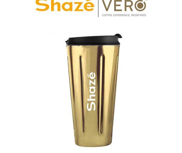 Gold Carry On Travel Mug