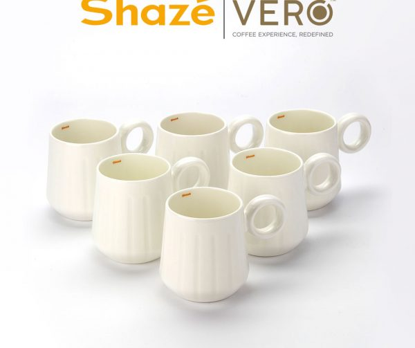 The White Coffee Mug - Set of 6